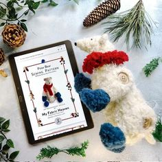 """Many sewing hobbyists struggle to make sense of conventional patterns, so we've designed a range of user-friendly, step-by-step guides that will help you sew your own cotton-critters with enjoyment and ease. Glacé 12"""" #Polar #Bear PDF Soft #Toy Sewing #Pattern #myfabricheaven #sewing #handmade #fabricaddict #sew #diy #sewingproject #sewingaddict #sewinglove #memade #handmadewithlove #isew #design #sewsewsew #sewists #sewingforkids #makersgonnamake #sewingmachine #craft #art #sewinglove Christmas Sewing Patterns, Pdf Sewing Patterns, Sewing For Kids, Diy For Kids, Craft Party, Fleece Fabric, Decoration, Polar Bear, Fun Crafts"""