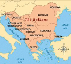 Territories whose borders lie entirely within the Balkan Peninsula: Albania, Bosnia and. Geography Map, World Geography, Romania Map, Country Maps, Historical Maps, Bosnia And Herzegovina, Eastern Europe, Montenegro Map, Science