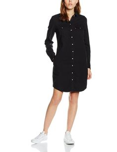 Levi's Damen Kleid LS Iconic Western Dress: Amazon.de: Bekleidung