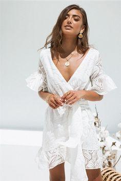 Laia Frill Sleeve Dress #SaboSkirt