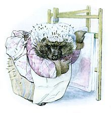 From The Tale of Mrs Tiggy-Winkle by Beatrix Potter, 1905
