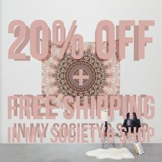 20% Off + Free Worldwide Shipping on Everything - Ends Tonight at Midnight PT!  https://society6.com/product/mandala-romantic-pink_tapestry?curator=christinebssler