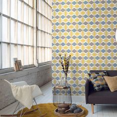 Leading wallpaper supplier & installer in Southern Africa, offering expert advice for small to large scale wall coverings commercial & residential projects. Galerie Wallpaper, Room Wallpaper, Wallpaper Ideas, Wallpaper Suppliers, Bespoke Design, Grey Yellow, Architectural Digest, Interior Design Inspiration, Luxury Homes