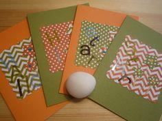 Handmade Hello Star Olive Green and Pumpkin by urbaneprincess