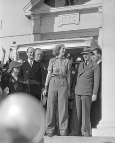 Today in Beryl Markham completes the first solo East-to-West flight over the Atlantic by a woman, flying from England to Nova Scotia (via Spencer Air and Space Museum Smithsonian) Kenya Africa, Out Of Africa, East Africa, West With The Night, Beryl Markham, Aviators Women, Amelia Earhart, Air And Space Museum, Happy Valley