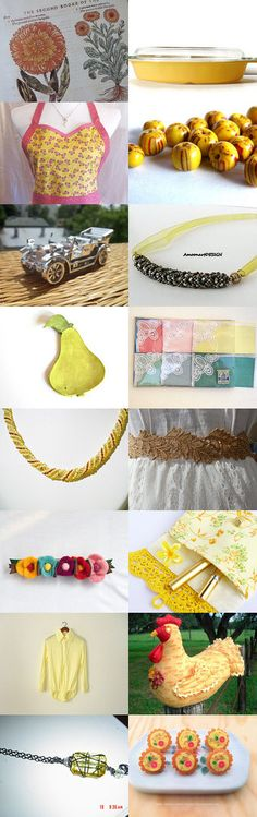 Harbingers of Spring  - Yellow Crocus and SPSTeam Sale by Patricia and Rebecca on Etsy--Pinned with TreasuryPin.com