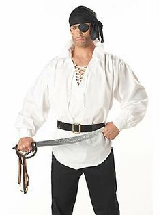 pirate costume ideas men - Google Search