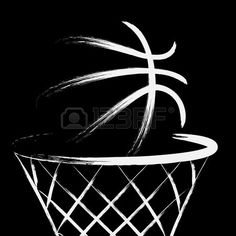 Clip Art Vector of Basketball Banner - Stylized basketball with the word. - Search Clipart, Illustration, Drawings, and EPS Vector Graphics Images Free Basketball, Basketball Games For Kids, Basketball Design, Basketball Pictures, Basketball Clipart, Basketball Decorations, Basketball Videos, Basketball Rules, Basketball Players