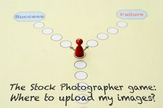 Making the choice where to upload certain images will lead to success or failure