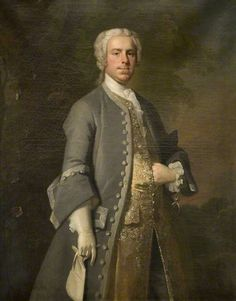 John Harvey Thursby (1709–1764), of Abington Abbey by Charles Philips, 1737