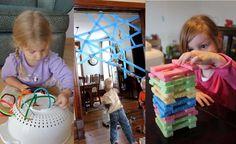 20 fáciles juegos que mantendrán entretenido a tu hijo un buen rato