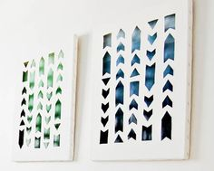 DIY Cut-out Canvas A