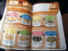 Wreck this journal, sample various substances found in your home.