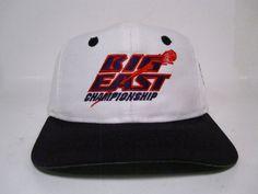 85aa7bca9a2 vintage big east championshipmadison square garden the game snapback adj  vtg 90s  TheGame  BaseballCap