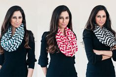 $14 for a Chevron Infinity Scarf - Shipping Included