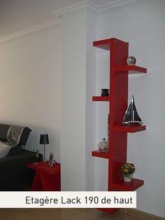 transformer la table basse lack pas ch re d 39 ikea moins de 7 en une tag re d 39 angle tr s sympa. Black Bedroom Furniture Sets. Home Design Ideas