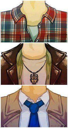 Sam, Dean & Cas!