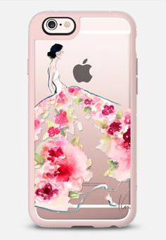 Paper Fashion x Rose Gown iPhone 6s case by paperfashion | Casetify