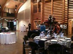 Tablescapes in Conference Center #WeddingVenue #Wedding #LoughridgeWeddings