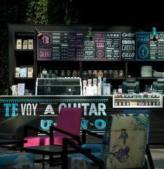 Modern stunning cafe interior designed by Esrawe in collaboration with Ignacio Cadena,