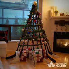 Molson Canadian Hockey Stick Tree