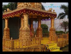 In our experience the best way to design the wedding mandap is with a free, no obligation face to face meeting... We cover the essential logistics of the wedding and then build up a draft of the desired wedding mandap!!!!