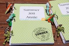 summer journal ready to go