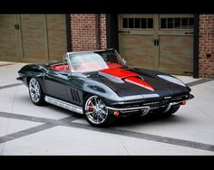 The most beautiful Corvette I have ever seen!!!   I want it!!!