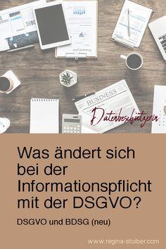 Was ändert sich bei der Informationspflicht mit der DSGVO?