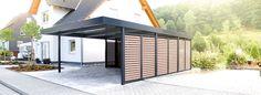 pin von wohnnet wo wie wohnen auf fertiggaragen carports pinterest. Black Bedroom Furniture Sets. Home Design Ideas