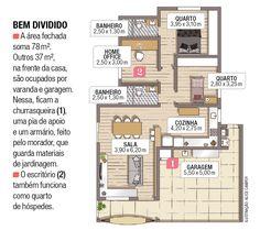 Casa com decoração inspirada nos estilos escandinavo e industrial | Minha Casa