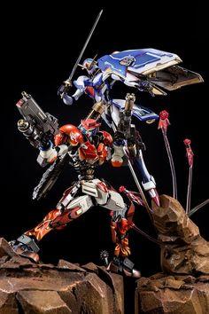 "Custom Build: Gundam Maxter and Rose Gundam ""Roses Magnum Hurricane ! Gundam Toys, Gundam Art, Geek Toys, Gundam Astray, Japanese Superheroes, Gundam Mobile Suit, Gundam Custom Build, Gundam Wing, Gunpla Custom"