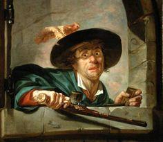 Joseph Ducreux The Jealous Husband Joseph Ducreux as art print or hand