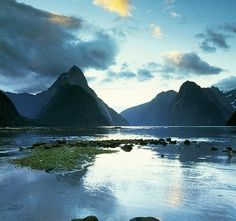 New Zealand is absolutely breath-taking. I would love to see all the picturesque views, and I have to visit the Lord of the Rings film sites cause I'm geeky that way. Places Around The World, Oh The Places You'll Go, Places To Travel, Places To Visit, Around The Worlds, Travel Stuff, Dream Vacations, Vacation Spots, Visit New Zealand