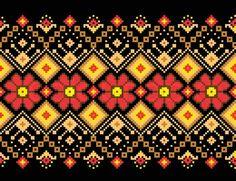 Stock vector of 'Vector illustration of ukrainian pattern ornament'