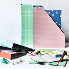 Hilmer has an entire ring binder full of drawings and doodles. Clara got him one for his homework as well.  #ringbinder #folders #school #backtoschool #office #inspiration #sostrenegrene #søstrenegrene #grenehome