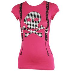 Checkered Skull Tee - A Product Page