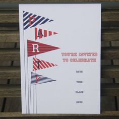 I'm selling Flag Party Invitations - pack of 10 - A$6.00 #onselz