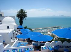 Sidi Bou Said, Tunisia The blue and white village of Tunisia has a wide reputation as an artistic bohemian sanctuary. Sidi Bou Said is flocked by tourists, but it's just one of those special places that don't lose their charm even with so many loud people littering the streets.