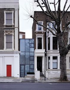 Sliver house, Maida Vale, London by Boyarsky Murphy Architects