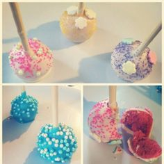 Gender Reveal Cake Pops | Baby Shower & Gender Reveal Cake Pops