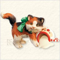 2008 Mischievous Kittens 10th Hallmark Keepsake Ornament