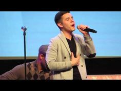 "David Archuleta ~Nunca Pense"" New Spanish Song Salt Palace."