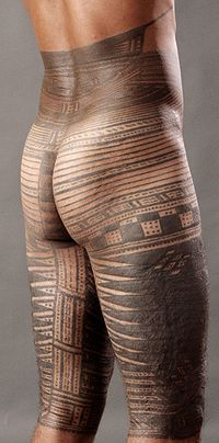 interesting .. The traditional Samoan tattoo, pe'a, covering the body from mid torso to the knees, takes 3 months to complete and up to 1 year to fully heal. A typical session lasts from dawn till dusk, or until the pain becomes too great, and resumes the next day unless the skin needs a few days to heal