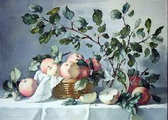 Акварельная живопись Елены Базановой.