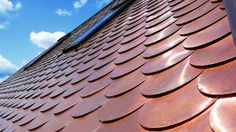 Roofing Materials Wanael Fish Scale Copper Roof Tile