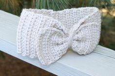 A personal favorite from my Etsy shop https://www.etsy.com/listing/167248761/head-warmer-crochet-earmuff-headband