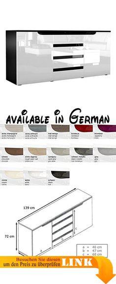 B00861O7X6  Schwebetürenschrank Kleiderschrank ca 300 cm Weiß - sideboard für schlafzimmer