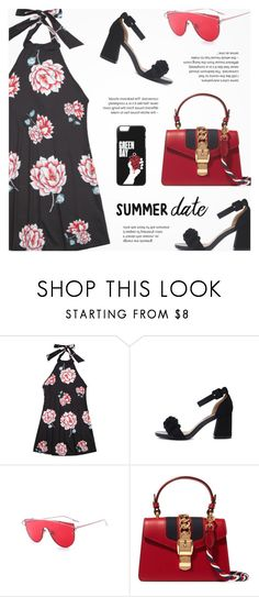 """""""Summer Date"""" by novalikarida ❤ liked on Polyvore featuring Gucci"""