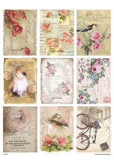 vintage sheet 14 romance